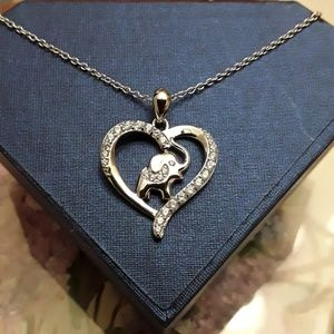 Jewelry - NEW S925 Ella The Good Fortune Elephant